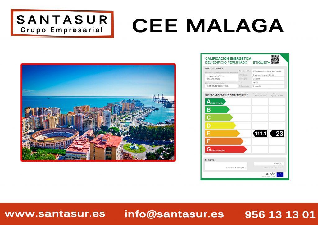 certificado energético malaga al mejor precio