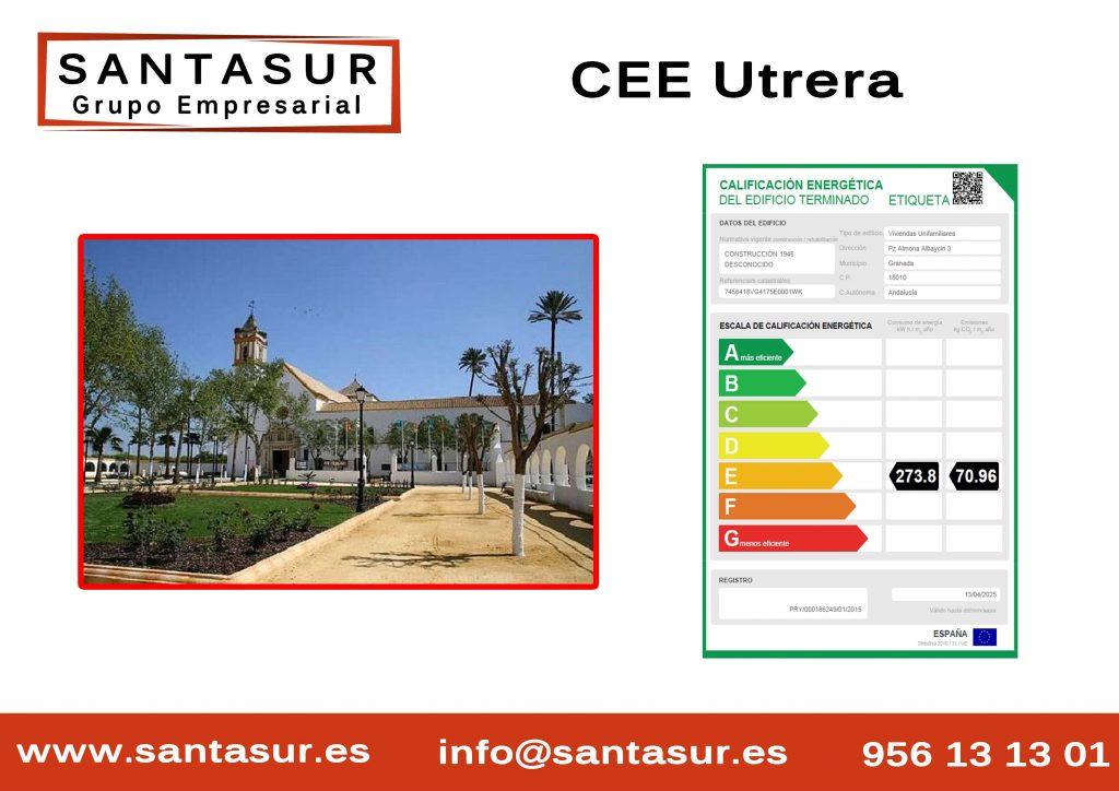 certificado energetico utrera sevilla