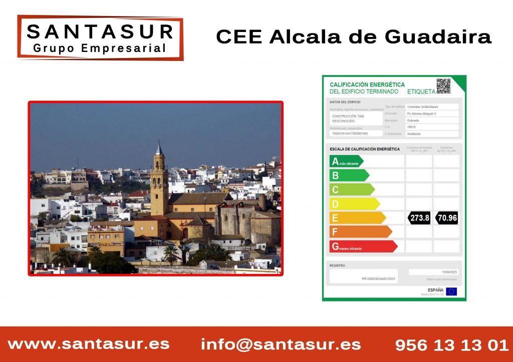 certificado energetico alcala de guadaira