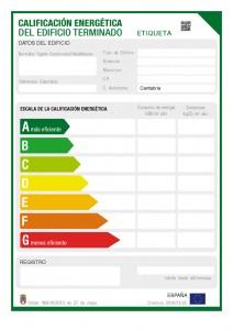 Certificado Eficiencia Energetica Granada