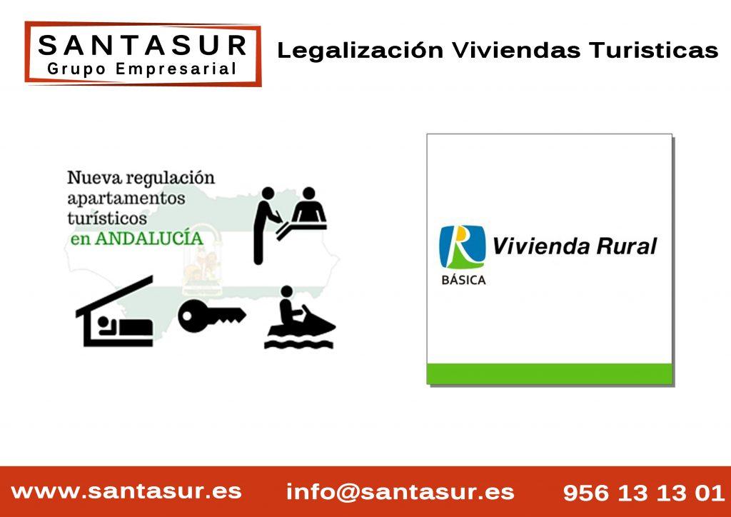Legalización de Viviendas con fines turísticos Andalucia