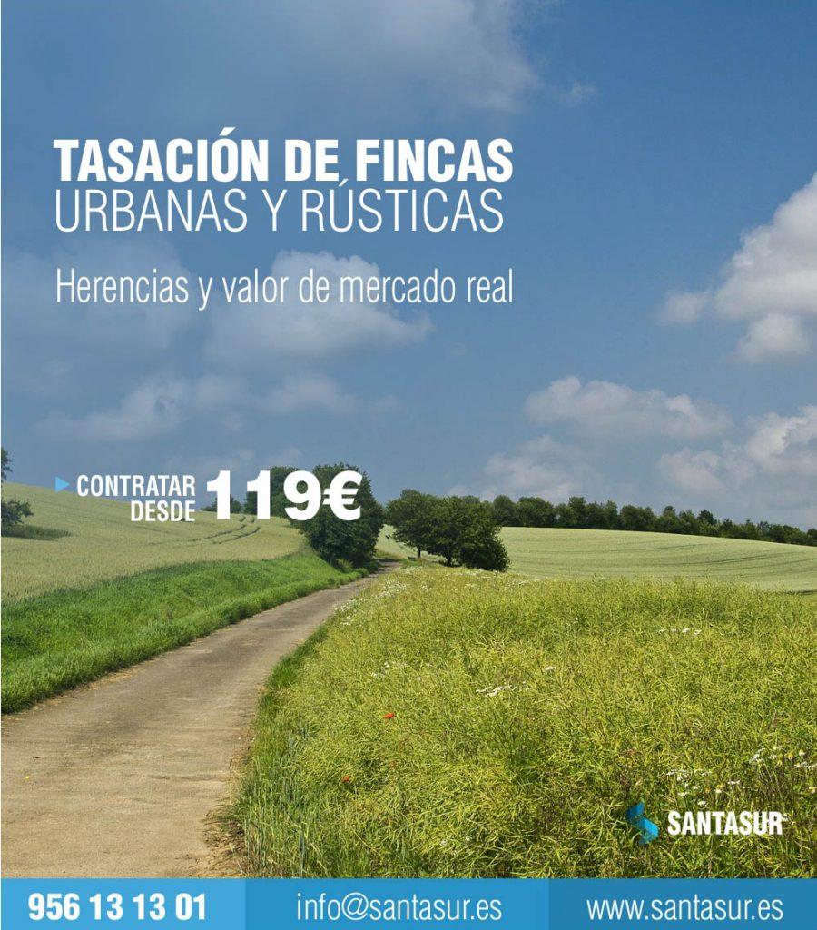 Tasacion de Fincas Casas