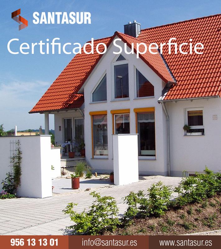 Certificados de superficies